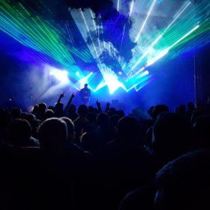 DJ Salis Laser Show
